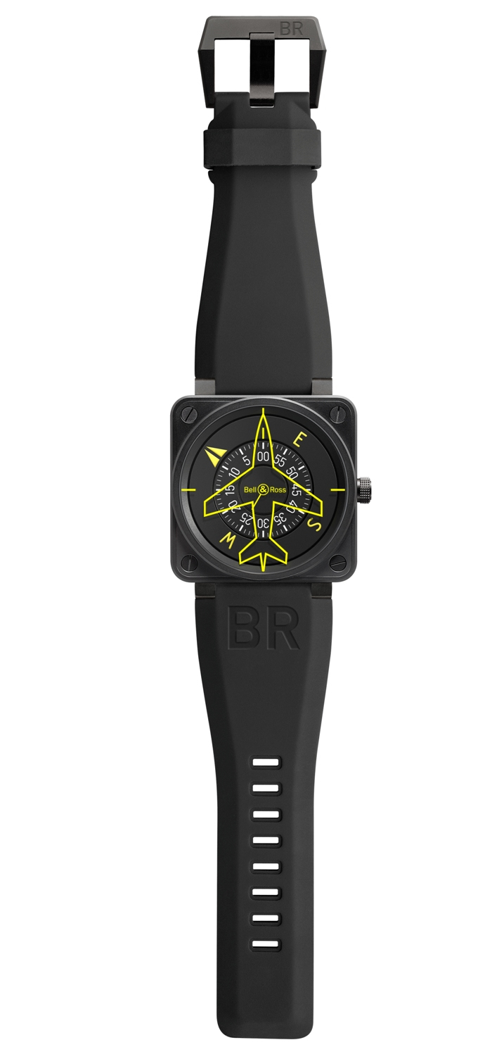 Bell & Ross unveils its 2013 Aviation Instrument-themed wrist watch collection -