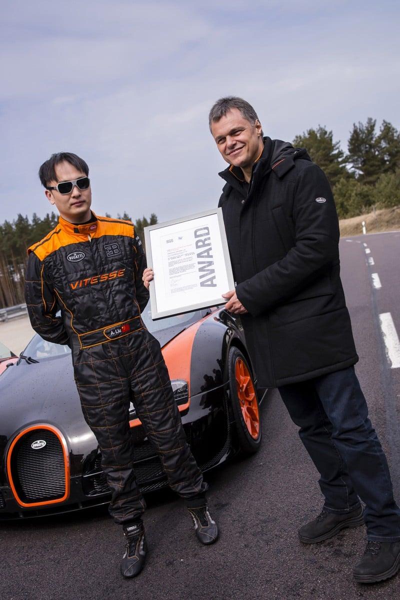 Bugatti Veyron 16 4 Grand Sport Vitesse Sets The Record As