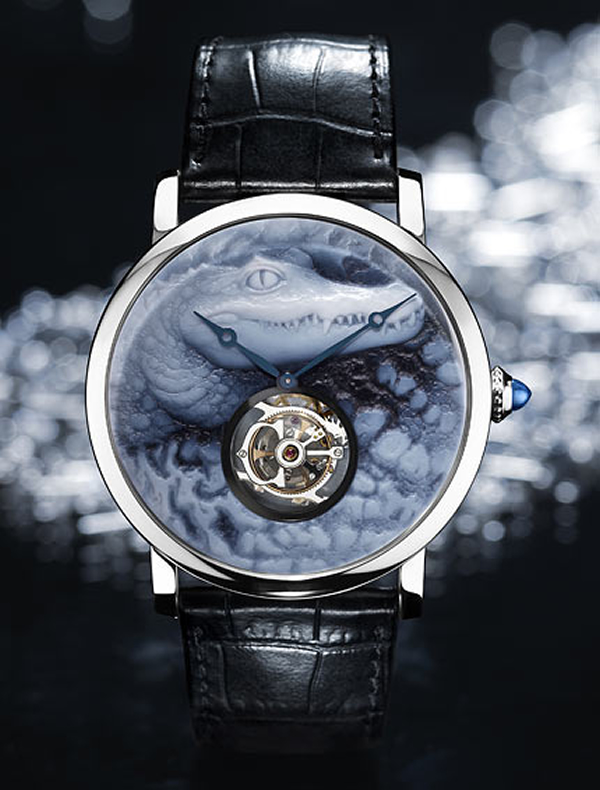 Clé de Cartier Mysterious Hour Watch - Decadence never looked so cool -
