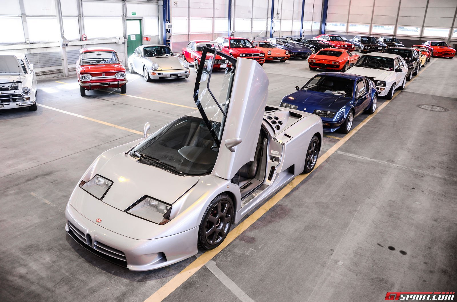 A Peak Inside A Garage Packed With Sports Luxury And Classic