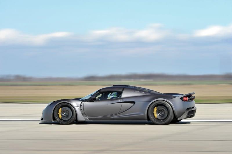 Hennessey Venom Gt Overtakes Bugatti Veyron Super Sport As