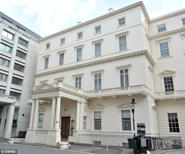 At 250 million 18 carlton house terrace in london is set for 18 carlton house terrace in st james