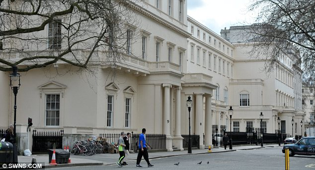 At 163 250 Million 18 Carlton House Terrace In London Is Set