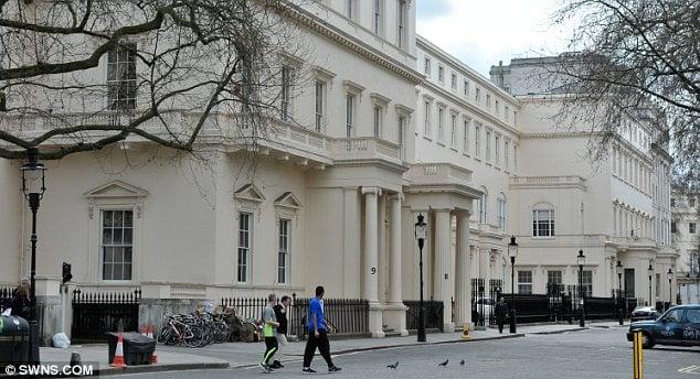 At 163 250 Million 18 Carlton House Terrace In London Is Set