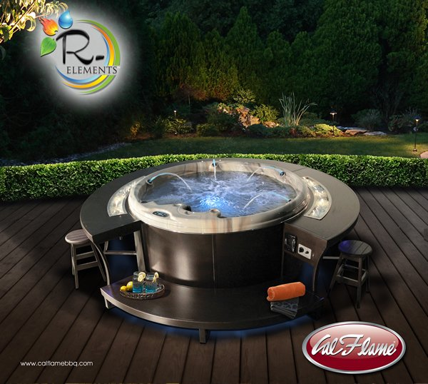 R Elements By Cal Flame Redefines The Hot Tub