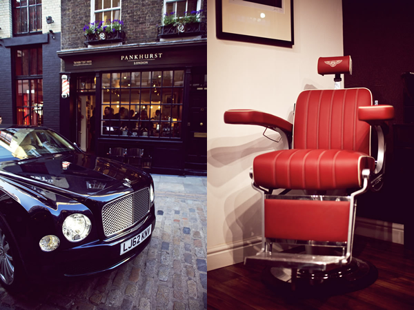 Get A Stylish Haircut On A Bentley Chair At Pankhurst London