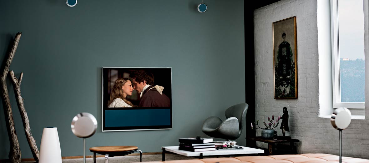 Bang Amp Olufsen Beolab 14 Surround Sound Speakers