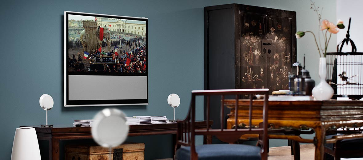 bang olufsen beolab 14 surround sound speakers. Black Bedroom Furniture Sets. Home Design Ideas