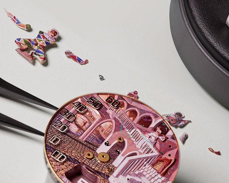 Bulgari Commedia dell' Arte watch unveiled
