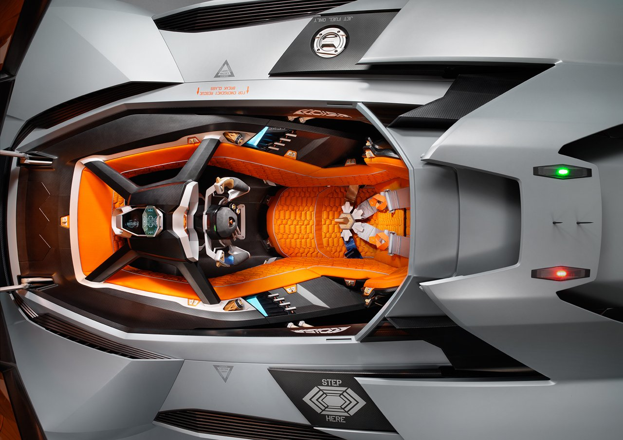 Most Expensive Car Seat >> Lamborghini Egoista one-seater concept celebrates the ...