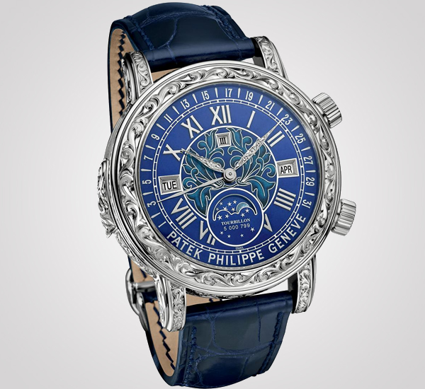Patek philippe sky moon tourbillon ref 6002g is the brand 39 s most complicated wristwatch for Patek philippe tourbillon