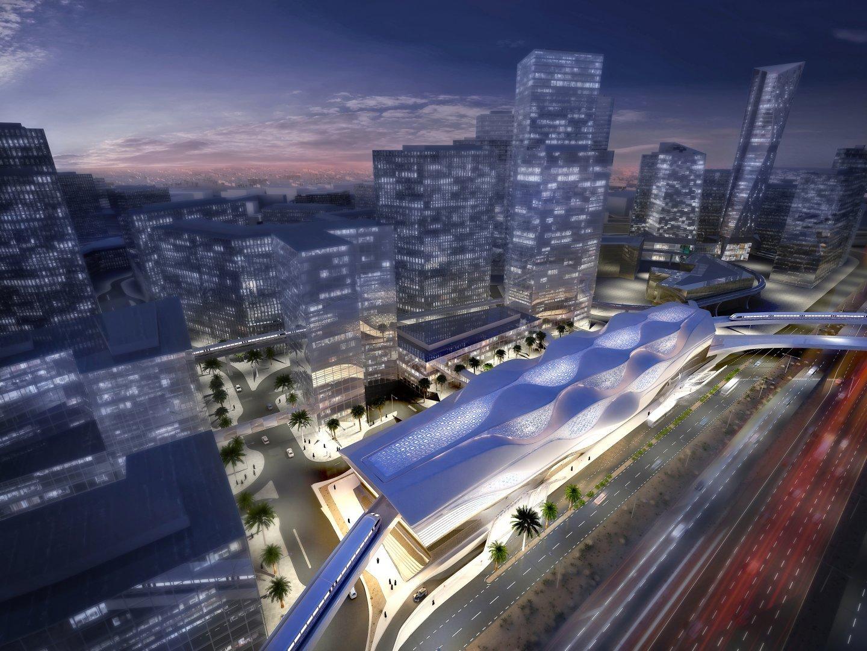 Zaha Hadid to design a new luxurious metro station in Riyadh : Luxurylaunches