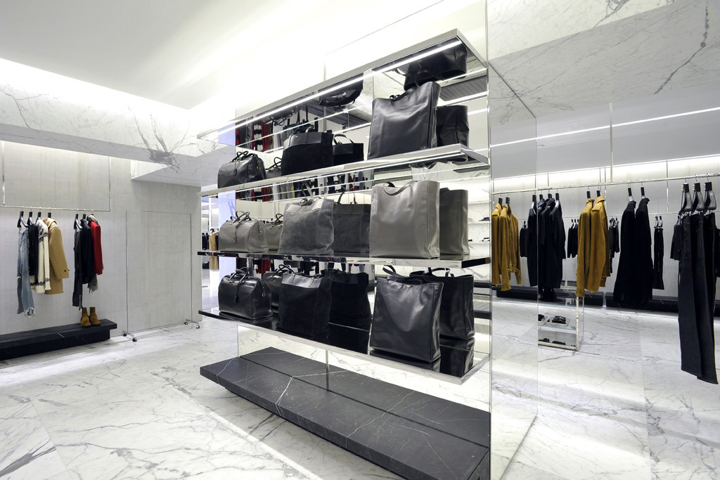 Fabuleux Saint Laurent's largest flagship store opens up at Avenue  ZF04