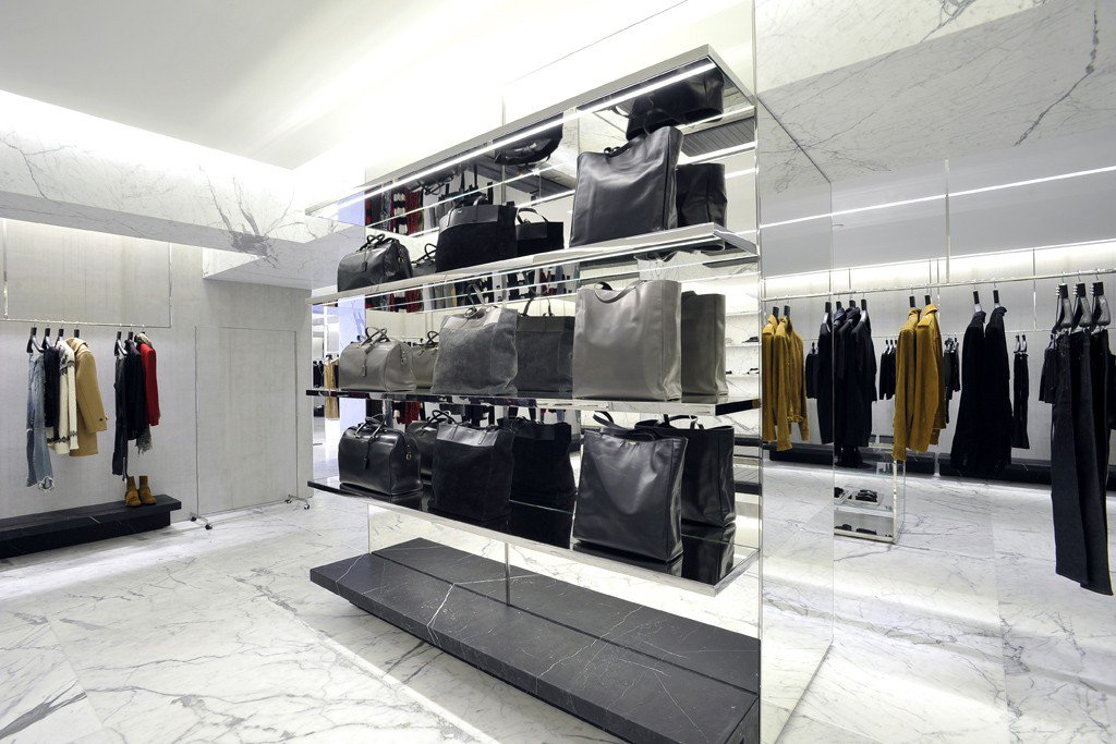10d44f149144c Saint Laurent's largest flagship store opens up at Avenue Montaigne, Paris -