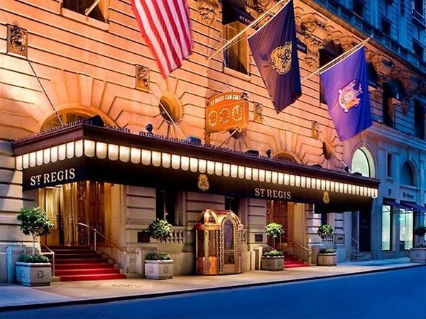 St regis new york ranks as the most expensive hotel in nyc for Expensive hotel in new york