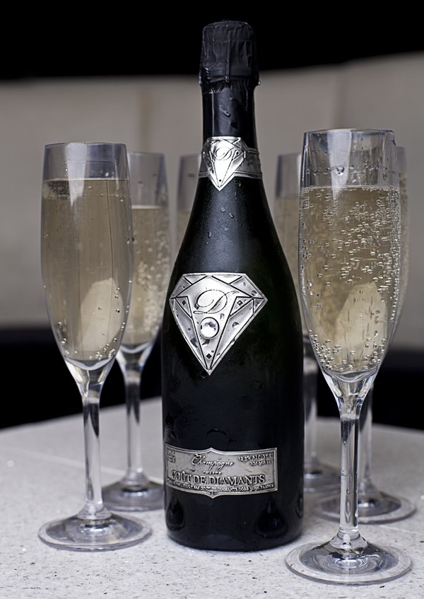 EXPENSIVE BUBBLY