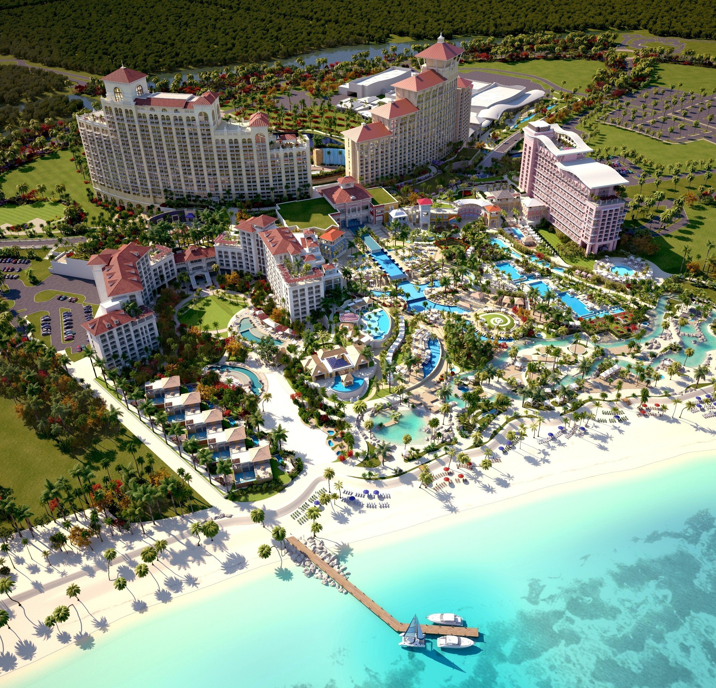 Baha Mar, Bahamas Will Be The Largest Luxury Resort In The