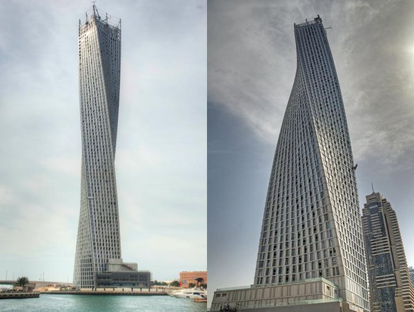 Cayan Tower, the world's highest twisted tower, opens up in Dubai : Luxurylaunches