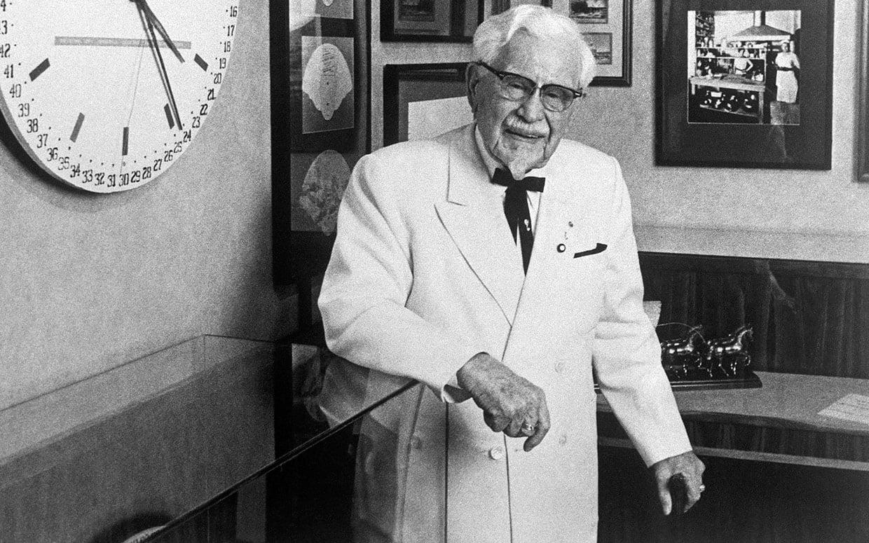 Colonel sander suit 1