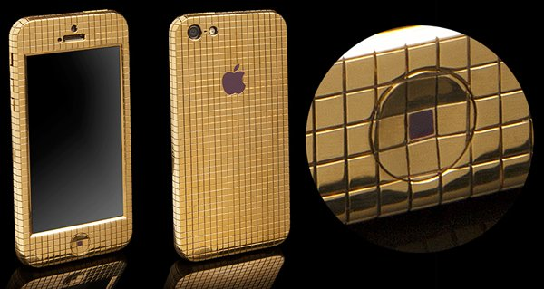 Diamond Studded Gold Iphone 5 Sells For Over 100 000