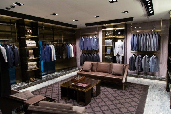 walk in closet ideas for small spaces - Gucci s first European men s store opens in Milan