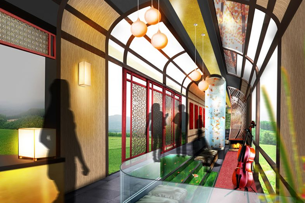 Tour The Japanese Countryside In A Luxury Sleeper Train By
