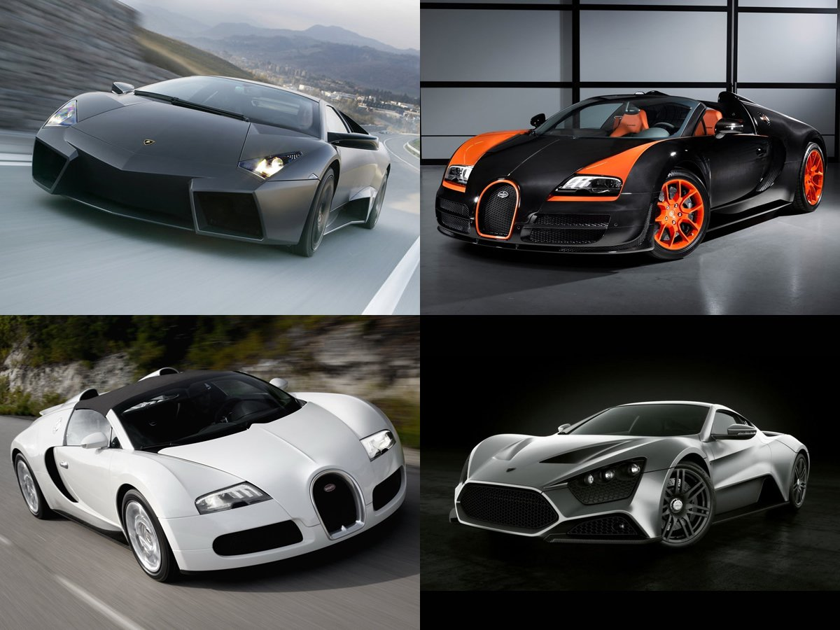 The 10 Most Expensive Cars On The Planet