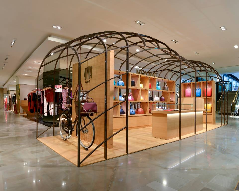 moynat pop up boutique to come up at galeries lafayette paris. Black Bedroom Furniture Sets. Home Design Ideas