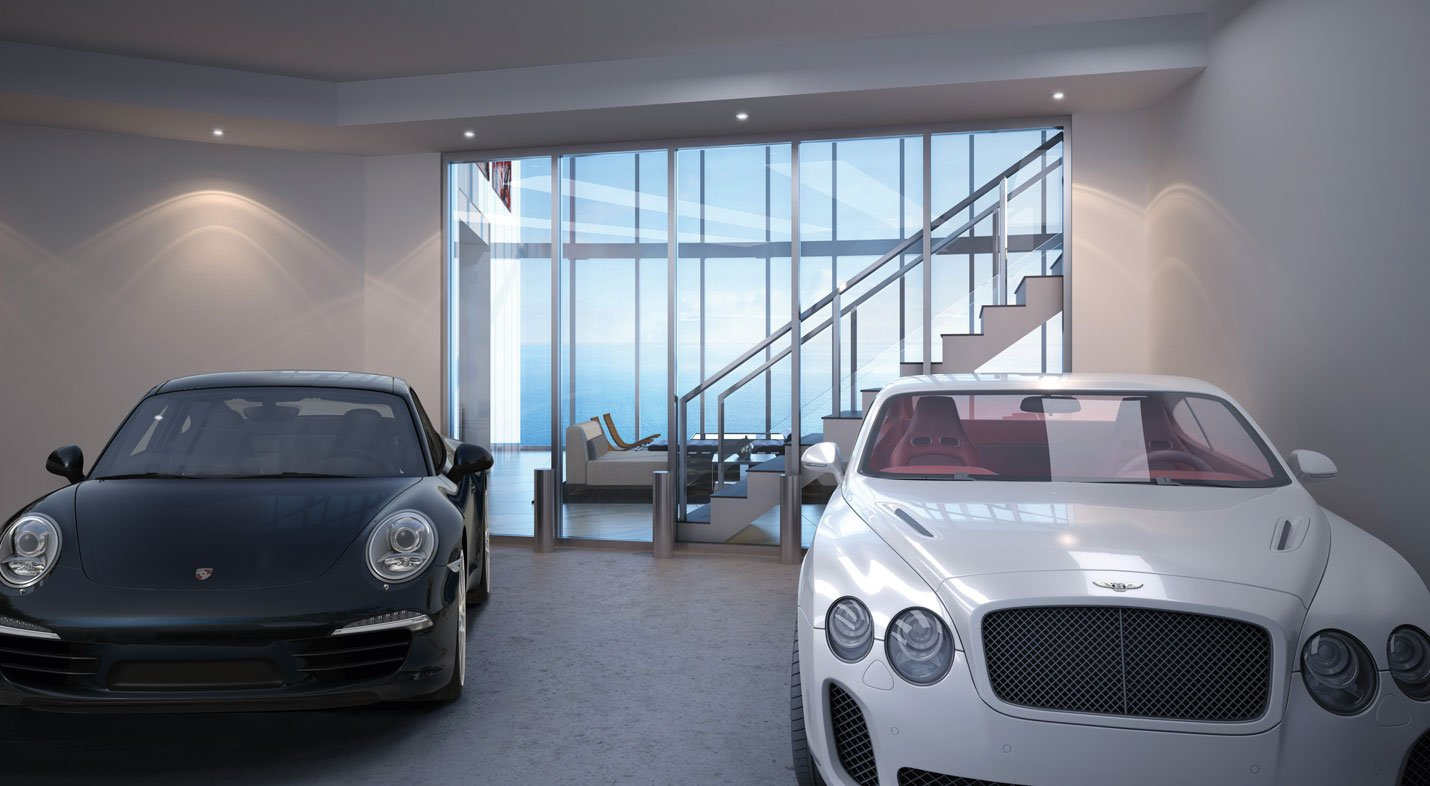 Porsche Design Tower Miami To Rise High With Auto Elevators Sky Garages And Car Concierge