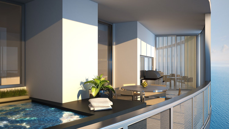 Porsche design tower miami to rise high with auto for Miami home design usa