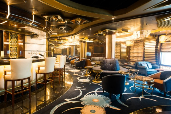 Royal princess ship hits the seas with over the top features - Advantages disadvantage buying replica nautical globe bar ...