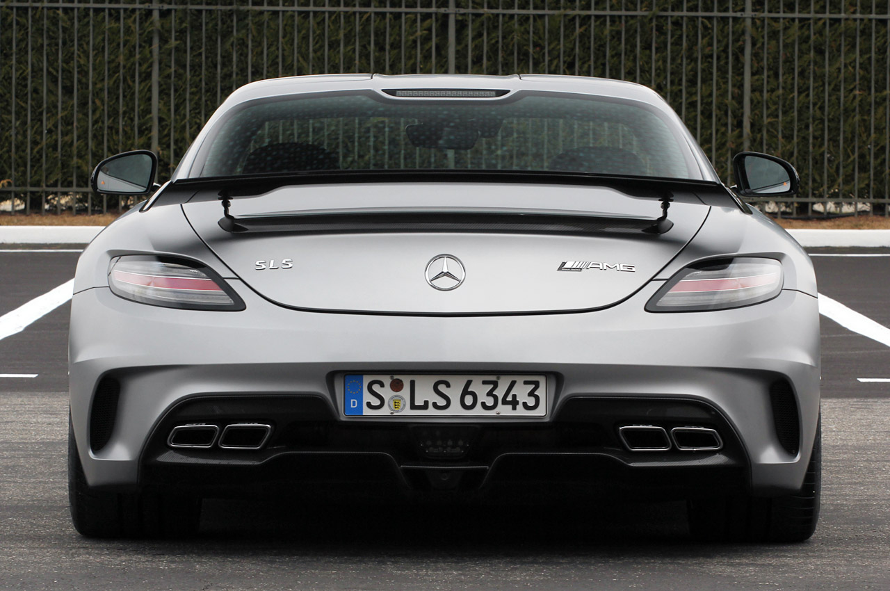 2014 Mercedes Benz Sls Amg Gt Black Series Coupe Is Listed
