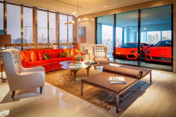 Luksusowy Garaż W Hamilton Scotts