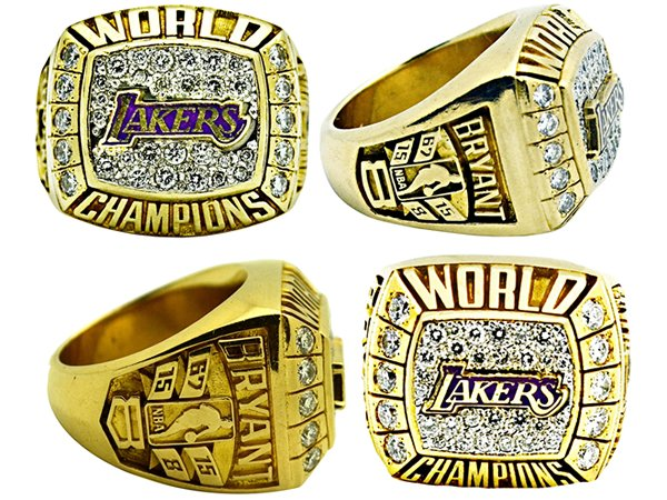 Kobe's two championship rings fetch over $282,000 at an auction