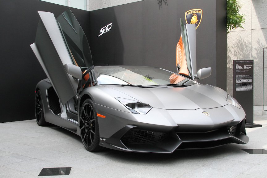 Lamborghini Gallardo And Aventador 50th Anniversary