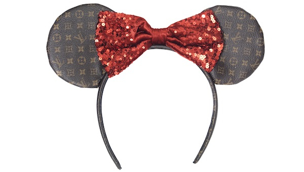 The Most Expensive Car In The World >> Bespoke Minnie Mouse ears created by Gucci, Louis Vuitton, Prada and others