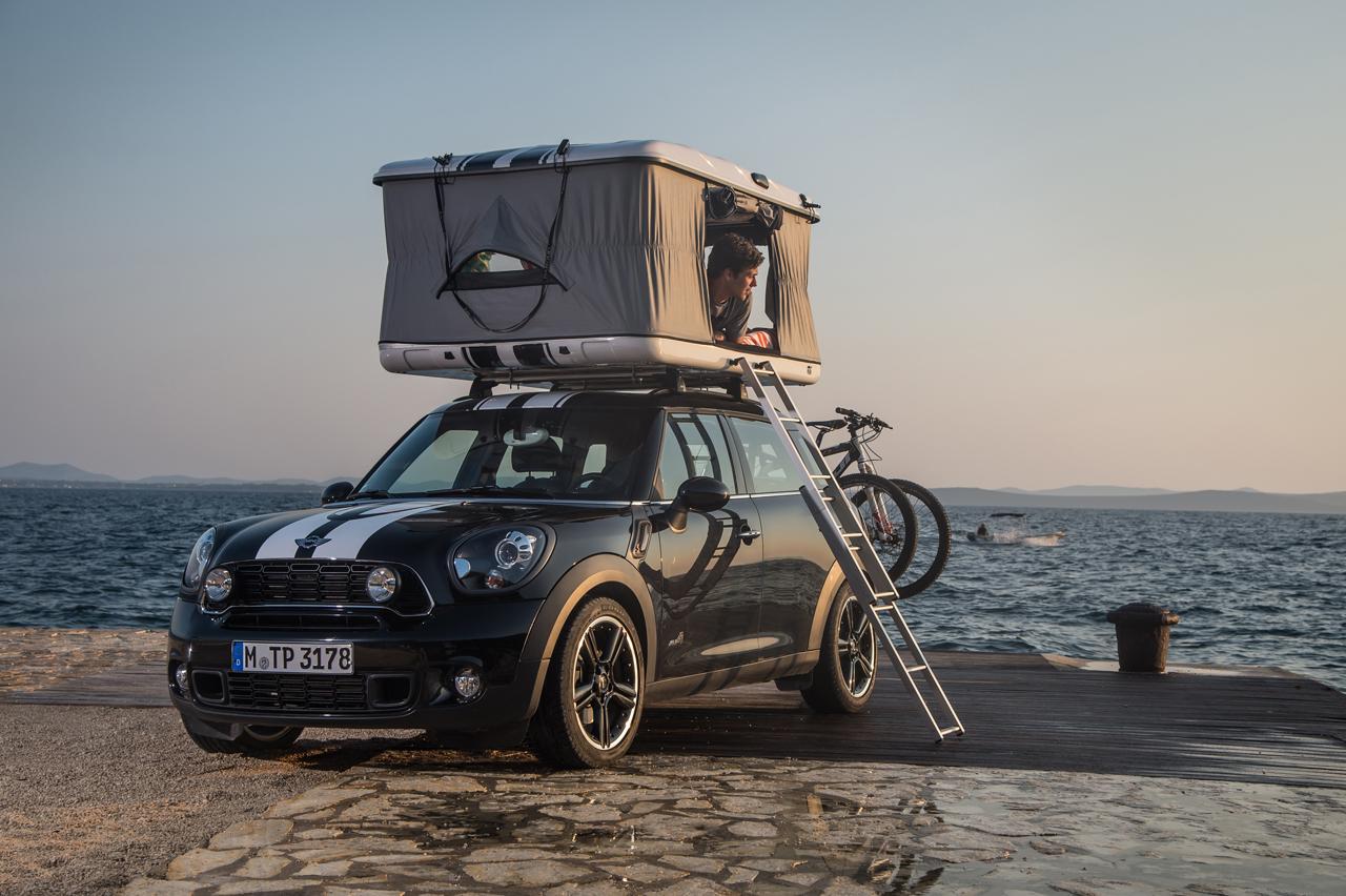 Mini Unveils The World S Smallest Luxury Camper Van Along