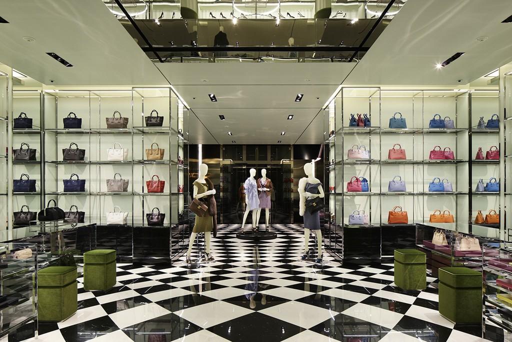Prada S First Freestanding Store Opens In Osaka Japan
