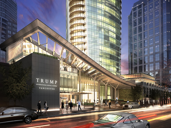 Trump International Hotel U0026 Tower, Vancouver Will Boast The Cityu0027s First  Pool Bar Nightclub