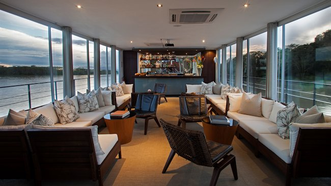 Aqua Amazon lets you cruise the river in pure luxury with 12 suites and an onboard chef -
