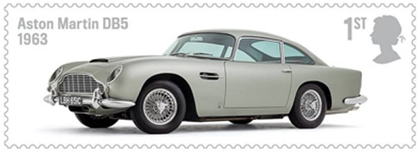 Rolls Royce and Aston Martin cars park themselves on Royal Mail