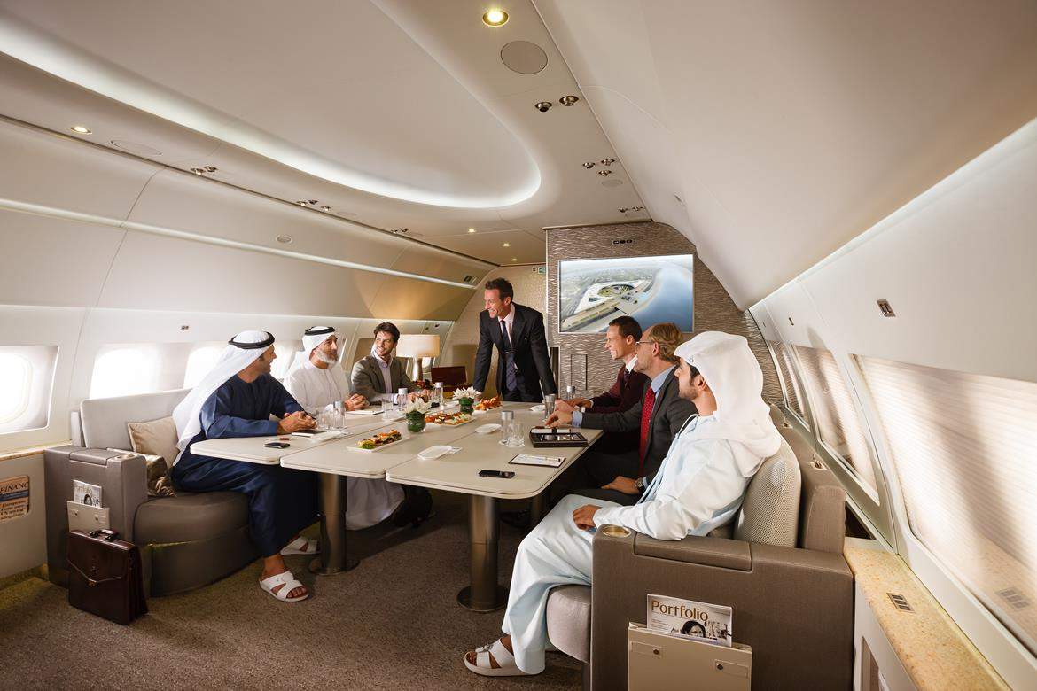 Emirates Executive Private Jet Service Takes Off With