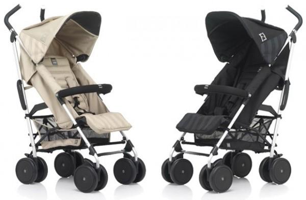 Fendi-Inglesina Pequin stroller exudes luxury and elegance