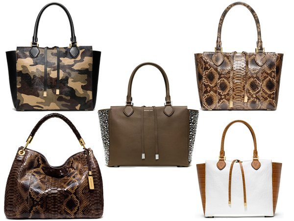 Tassen Michael Kors Review : Michael kors latest line presents totes with an