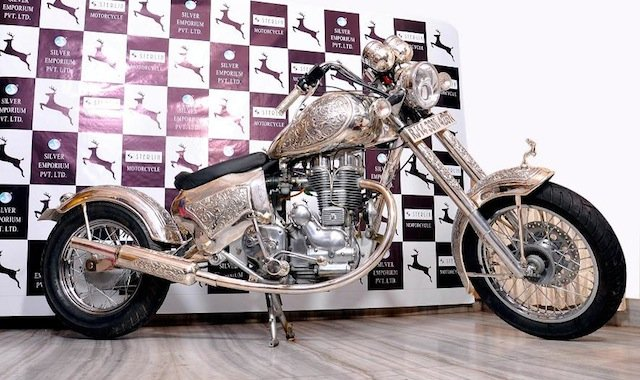 silver-bike