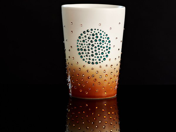 Swarovski Studded Starbucks Mug Marks The 10th Anniversary