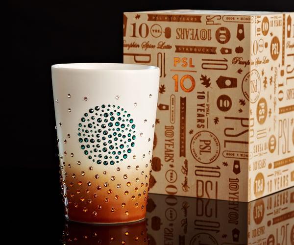 Swarovski Studded Starbucks Mug Marks The 10th Anniversary