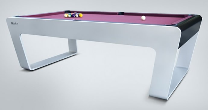 Uber-stylish bespoke billiards table from Porsche Design Studio : Luxurylaunches