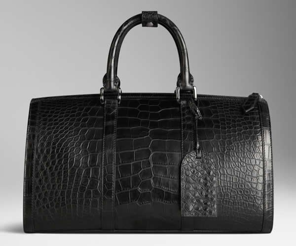 burberry-polished-alligator-leather-holdall