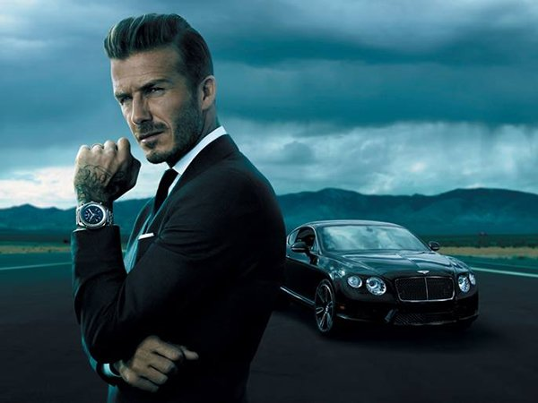 David Beckham Becomes Brand Ambassador For Breitling For